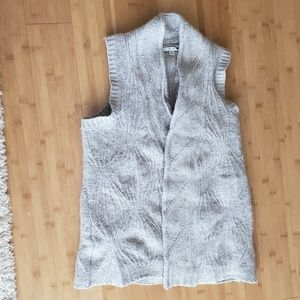 Cabi wool knitted sweater vest